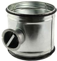 Handbediende regelklep Ø150mm voor spirobuis-1