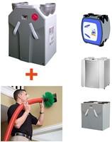 Installatie WTW unit + borstelreinigen ventilatiekanalen en roosters + inregelen-2