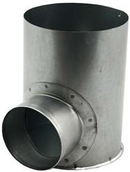 instortpot Ø125mm H=80mm enkel met verlengde aansluiting