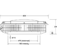Itho - dakventilator CAS ECO-fan 2500 230/400V - 3150m3/h-2