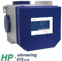 Itho alles-in-een pakket perilex stekker - Itho cve HP 415m3/h + rft bediening + 4 ventielen-2