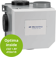 Itho Daalderop OptimaFlow CVE CO2