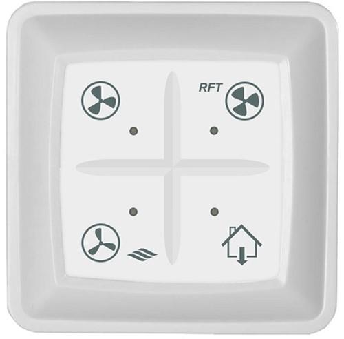 Itho draadloze RFT zender voor CVE en Duco C met niet thuis functie