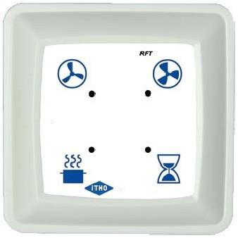 Draadloze zender RFT creme / wit voor Demandflow ITHO(536-0146)