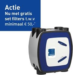 Itho WTW unit HRU Eco Fan Bal RFT Hoogbouw 325m3/h - euro stekker