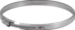 Klemband Ø 125 mm I304 (D0,6)