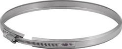 Klemband diameter  400 mm I304L (D0,6)