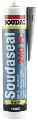Lijmkit ms-polymeer grijs soudaseal 240fc koker 290ml. (stuk)