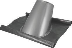 Loodslab Ø 130 mm INOX
