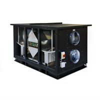 Luchtbehandelingskast CLIMA 3000 ECO PLUS ( incl. Regin controller met display) 3000 m3/h-2