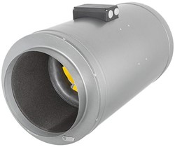 Ruck geïsoleerde buisventilator Etamaster met EC-motor 1200m³/h - diameter 200 mm - EMIX 200 EC 11