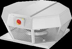 Ruck dakventilator horizontaal met EC motor en werkschakelaar 1380m³/h - DHA 250 ECP 30