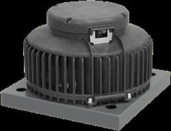 Ruck dakventilator kunststof met werkschakelaar en EC motor 1370m³/h - DHA 250 ECP 20