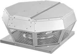 Ruck dakventilator horizontaal met EC motor 1380m³/h - DHA 250 EC 30