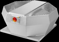 Ruck dakventilator verticaal met werkschakelaar 5020m³/h - DVA 450 D4P 30