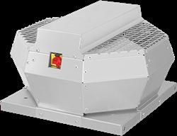 Ruck dakventilator verticaal met EC motor, werkschakelaar en constante drukregeling 1200m³/h - DVA 250 ECCP 30