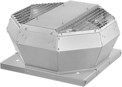 Ruck dakventilator verticaal met EC motor en constante drukregeling 1970m³/h - DVA 280 ECC 30