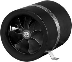 Ruck buisventilator Etaline E met voltage regeling 920m³/h diameter 200 mm - EL 200 E2 01