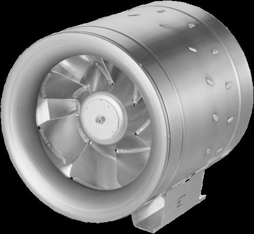 Ruck buisventilator Etaline D met frequentieregeling 6910m³/h diameter 400 mm - EL 400 D2 01