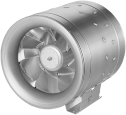 Ruck buisventilator Etaline met EC motor inclusief bediening 7120m³/h diameter 400mm - EL 400 EC 10