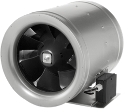 Ruck buisventilator Etaline E met voltage regeling 2580m³/h diameter 355 mm - EL 355 E4 01