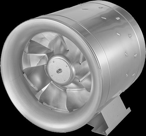 Ruck buisventilator Etaline E met voltage regeling 5210m³/h diameter 450 mm - EL 450 E4 01