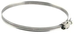 Metalen slangenklem Ø 60mm - 180mm