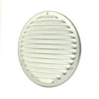 Metalen ventilatierooster rond Ø 160mm zink-1