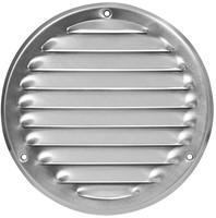 Ventilatieroosters metaal rond - opbouw