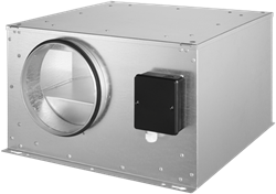 Ruck geïsoleerde boxventilator ISOR 3590m³/h diameter  450 mm - ISOR 450 E4 20