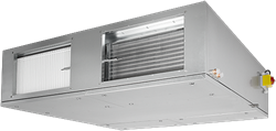 Ruck ETA-F luchtbehandelingskast met WTW en water verwarmer - Plafondmontage 1375m³/h