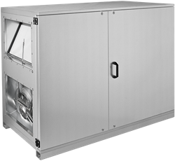 Ruck ETA-H luchtbehandelingskast met WTW en water verwarmer - Horizontale uitblaas links - 780m³/h
