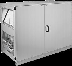 Ruck ETA-H luchtbehandelingskast met WTW en water verwarmer - Horizontale uitblaas links - 1500m³/h