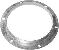 Ruck inlaatflens, gegalvaniseerd plaatstaal diameter 249 mm - DAF 250