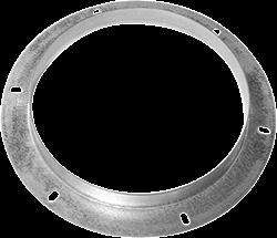 Ruck inlaatflens, gegalvaniseerd plaatstaal diameter 638 mm - DAF 710