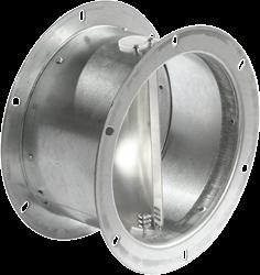 Ruck flexibele dakafsluitklep, gegalvaniseerd plaatstaal diameter 255 mm - DVK 250
