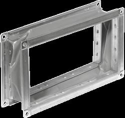 Ruck flexibel verbindingsstuk gegalvaniseerd plaatstaal 600 x 300 - VS 6030