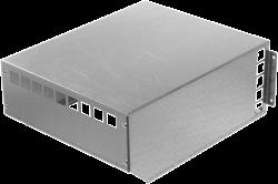 Ruck MPS 225 - 560 weerbestendige afdekkap, gegalvaniseerd plaatstaal - WSH MPS