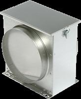 Ruck luchtfilterbox met vliesfilter diameter 100 - FV 100-1