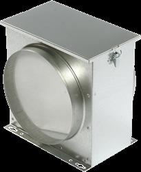 Ruck luchtfilterbox met vliesfilter diameter 125 - FV 125