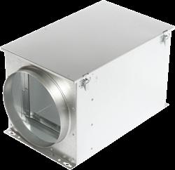 Ruck luchtfilterbox met zakkenfilter 100 mm - FT 100