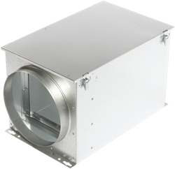 Ruck luchtfilterbox met zakkenfilter 125 mm - FT 125