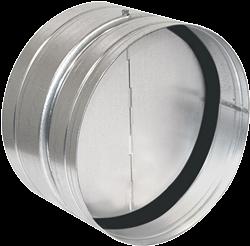 Ruck terugslagklep met afdichtingsrubber diameter 100 - RSK 100D