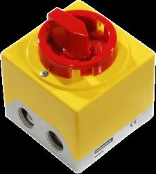 Ruck 3-polige apparaatschakelaar - GS 01
