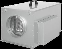 Ruck compacte luchttoevoerunit met verwarmingsbatterij en EC-motor 620m³/h - Ø200 - FFH 200 EC 10