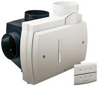 Orcon Compact 10RHB 360m3/h  + vochtsensor + RFT bediening - randaarde stekker-1
