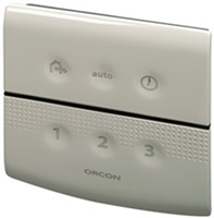 Orcon alles-in-een pakket randaarde stekker MVS 15R 520m3/h + rft bediening + 4 ventielen-3