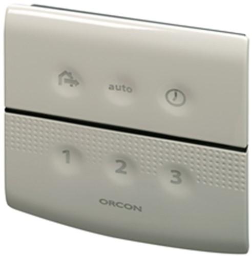 Orcon alles-in-een pakket randaarde stekker MVS 15R 520m3/h + rft bediening + 4 ventielen