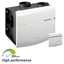 Orcon MVS 15RH CO2B 520m3/h + CO2 sensor met ingebouwde RFT bediening + vochtsensor