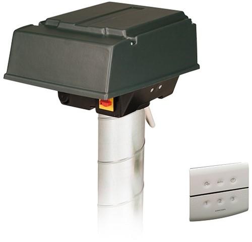 Orcon Pijpdakventilator MPV-10WR 420m3/h + RFT bediening